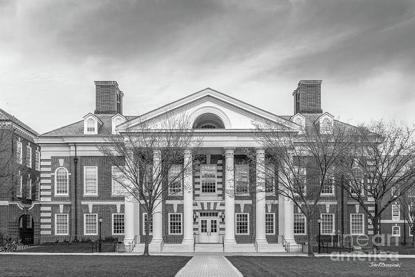 Photograph - University Of Delaware Dupont Hall by University Icons