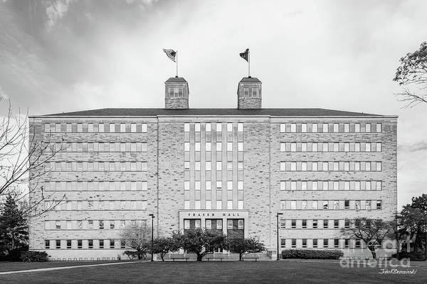 Photograph - University Of Kansas Fraser Hall by University Icons