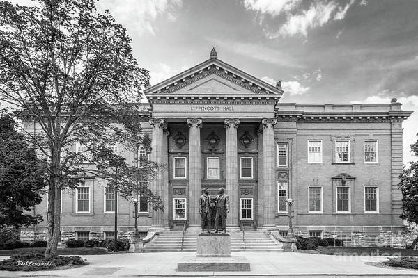 Photograph - University Of Kansas Lippincott Hall by University Icons