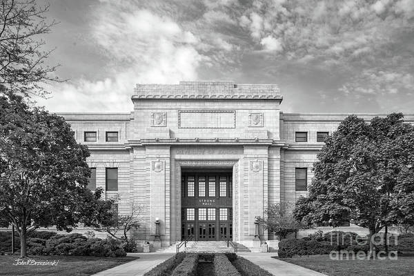 Photograph - University Of Kansas Strong Hall by University Icons