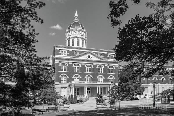 Photograph - University Of Missouri Columbia Jesse Hall by University Icons