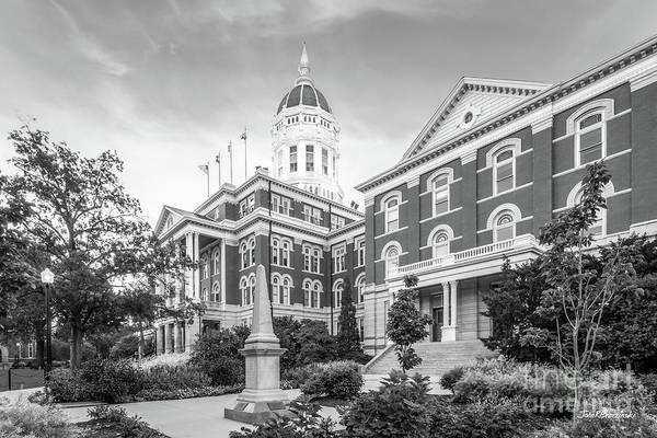 Photograph - University Of Missouri Columbia  by University Icons