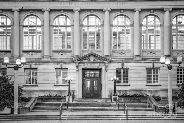 Photograph - University Of Missouri Ellis Library by University Icons