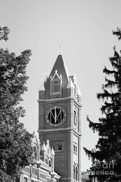 Photograph - University Of Montana Clock Tower by University Icons