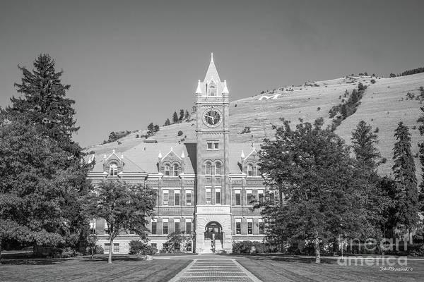 Photograph - University Of Montana University Hall by University Icons