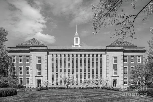 Photograph - University Of Nebraska Love Library by University Icons