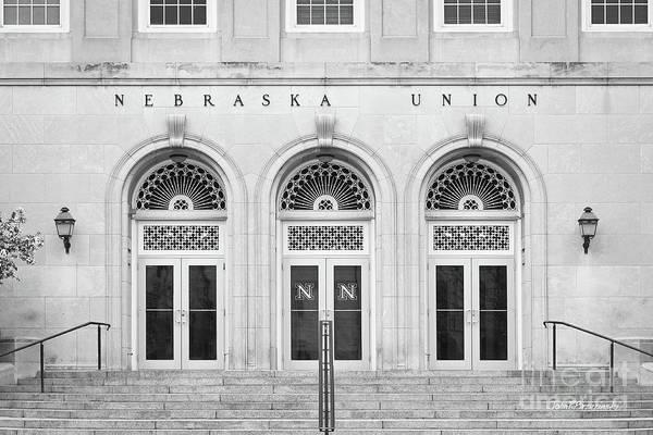 Photograph - University Of Nebraska Union Doors by University Icons