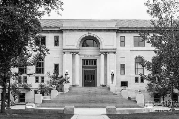 Photograph - University Of Notre Dame Bond Hall by University Icons