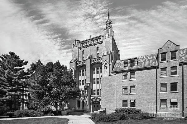 Photograph - University Of Notre Dame Morrissey Hall by University Icons