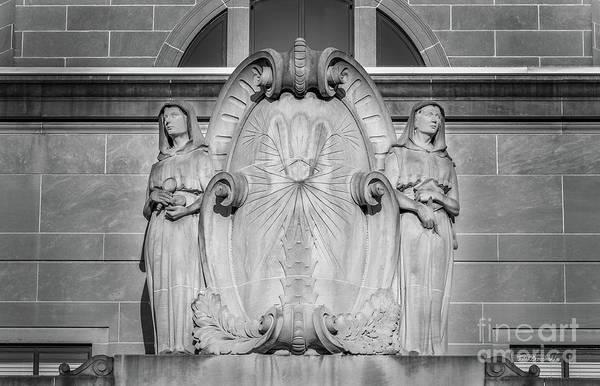 Photograph - University Of South Carolina Mc Kissick Detail by University Icons