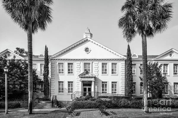 Photograph - University Of South Carolina Osborne Administration Building by University Icons