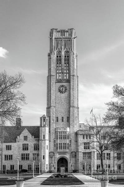 Photograph - University Of Toledo University Hall Tower by University Icons