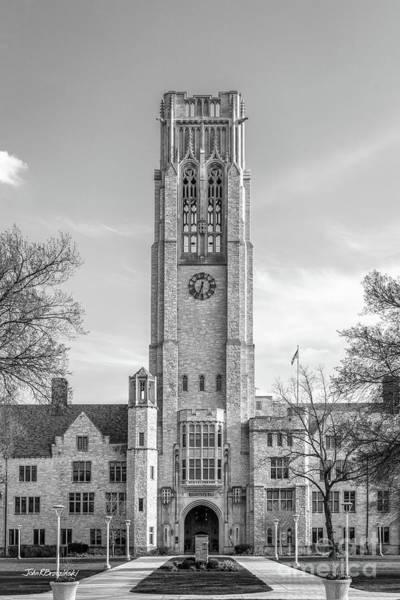 Photograph - University Of Toledo University Hall Tower by University Icons