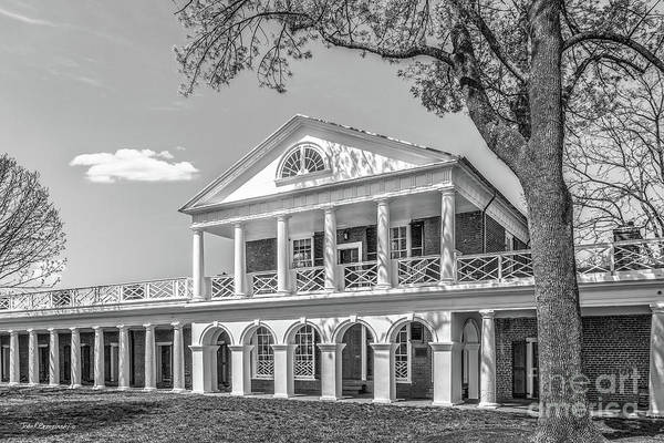 Photograph - University Of Virginia Academical Village Pavilion by University Icons