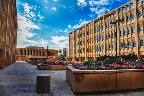 Photograph - University Of Wyoming Classroom Building by Chance Kafka