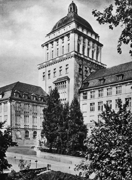 Campus Photograph - University Of Zurich by Hulton Archive