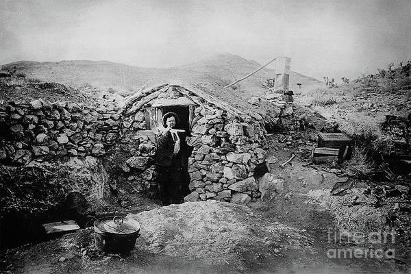 Photograph - Unknown Miner - Randsburg, Ca, Circa. 1900 by Doc Braham