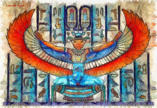 Ra Digital Art - Unlikely Egypt - Da by Leonardo Digenio