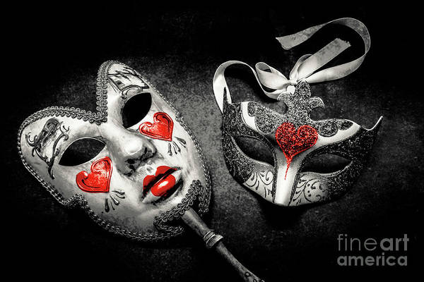Masquerade Wall Art - Photograph - Unmasking Passions by Jorgo Photography - Wall Art Gallery