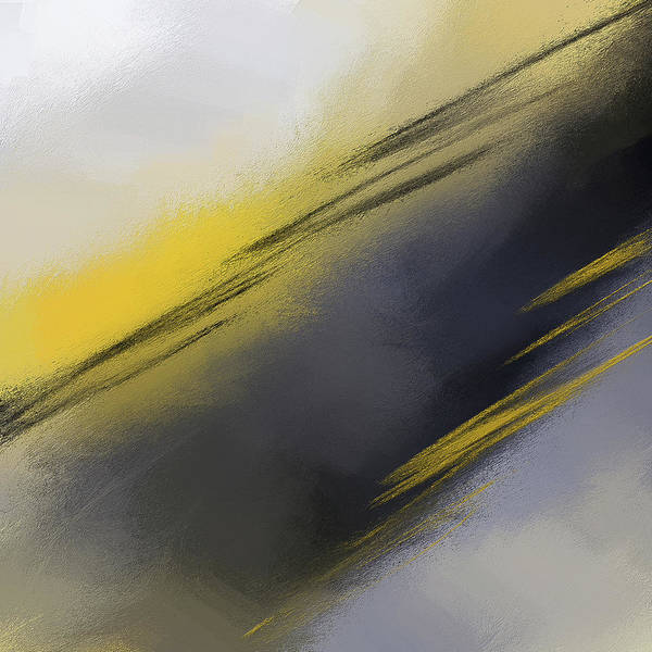 Painting - Unplanned - Yellow And Abstract Art by Lourry Legarde
