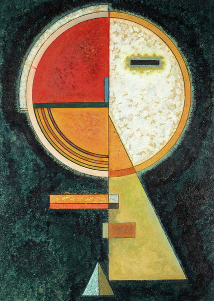 Wall Art - Painting - Unstable Compensation, 1930 by Wassily Kandinsky