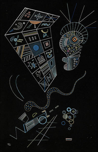 Wall Art - Painting - Untitled - Ohne Titel, 1941 by Wassily Kandinsky
