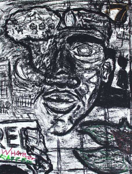 Drawing - Untitled Sketch II by Odalo Wasikhongo