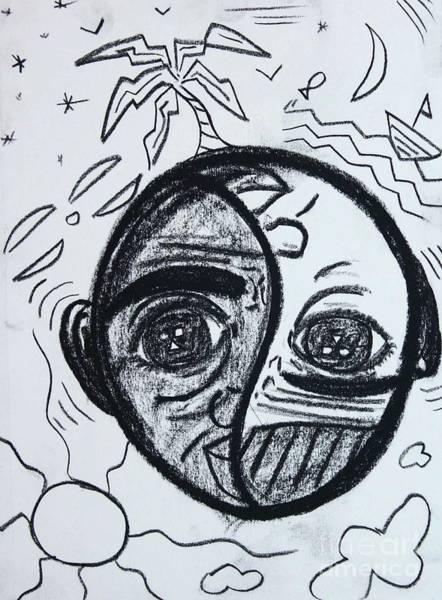 Drawing - Untitled Sketch IIi by Odalo Wasikhongo