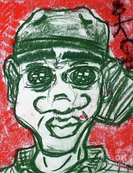 Pastel - Untitled V by Odalo Wasikhongo