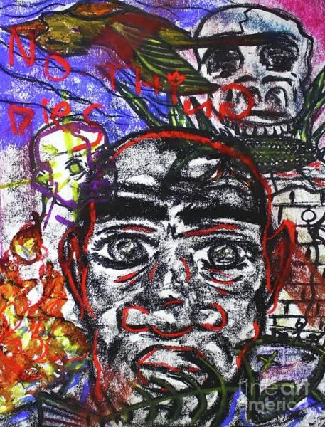 Pastel - Untitled Xi by Odalo Wasikhongo