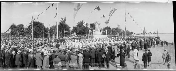 Wall Art - Photograph - Unveiling Of The John Ericsson Memorial by Fred Schutz Collection