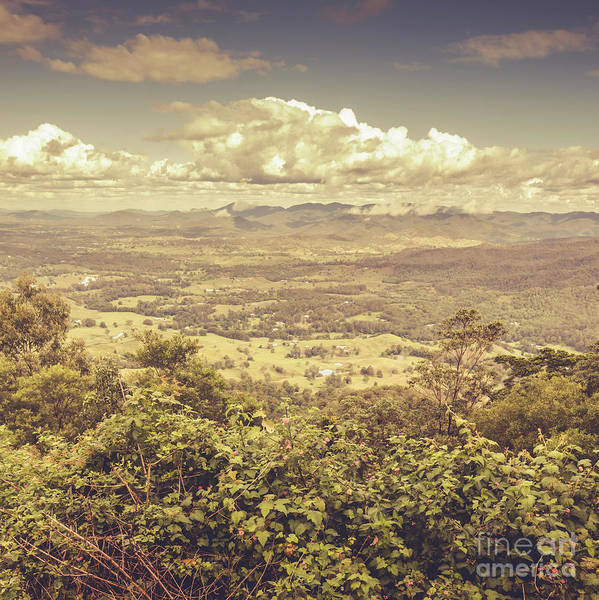Wall Art - Photograph - Up Above The Land Down Under by Jorgo Photography - Wall Art Gallery