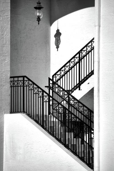 Photograph - Up The Stairway by Perry Correll
