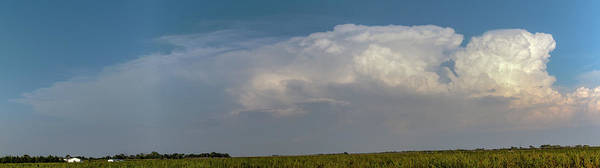 Photograph - Updrafts And Anvil 036 by NebraskaSC