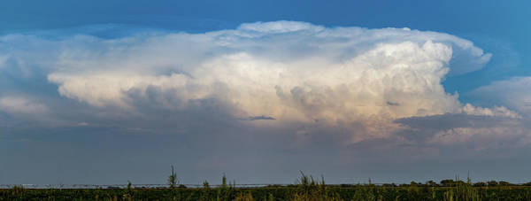 Photograph - Updrafts And Anvil 045 by NebraskaSC