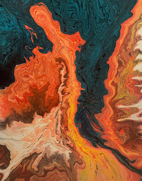 Painting - Upheaval by Lon Chaffin
