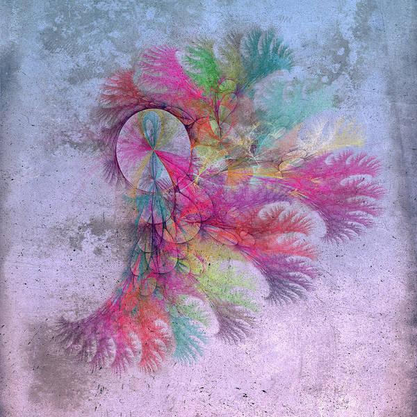 Wall Art - Digital Art - Uplifting Coastal Spirit Fractal by Betsy Knapp