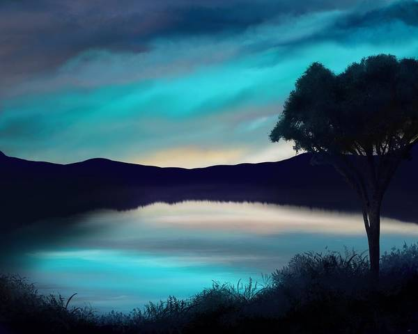 Painting - Upon The Breathing Tide by Mark Taylor
