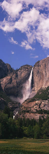 Wall Art - Photograph - Upper And Lower Yosemite Falls by Timothy Hearsum
