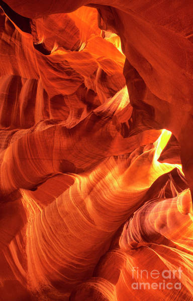 Photograph - Upper Antelope Abstract Slot Canyon Arizona by Dave Welling