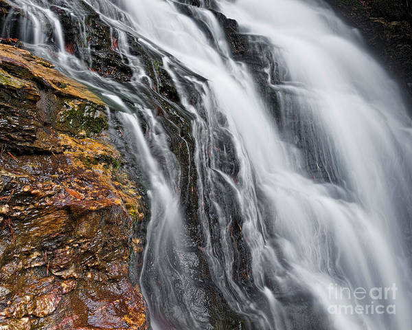 Photograph - Upper Cascade 5 by Patrick M Lynch
