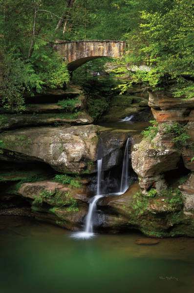 Wall Art - Photograph - Upper Falls Old Mans Cave by Alan Majchrowicz
