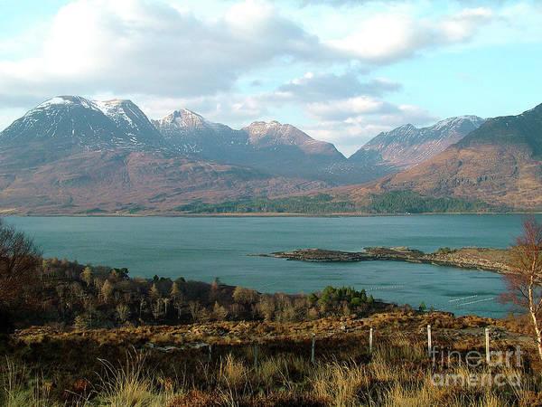 Photograph - Upper Loch Torridon And Beinn Alligin by Phil Banks