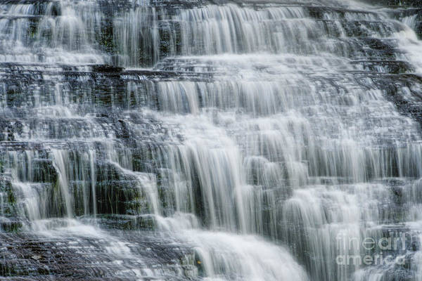 Photograph - Upper Piney Falls 4 by Phil Perkins