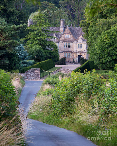 Photograph - Upper Slaughter Manor House by Brian Jannsen