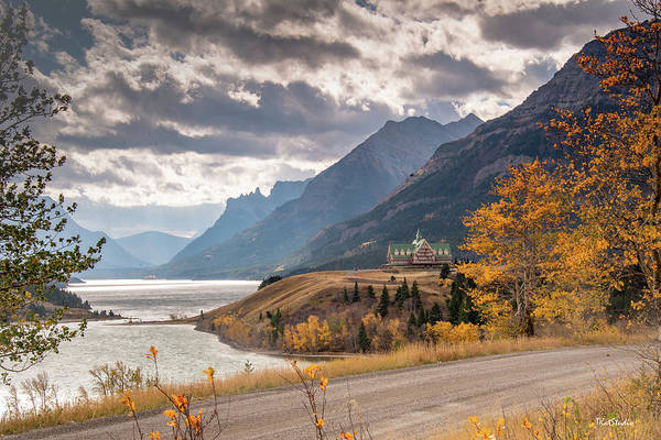 Upper Waterton Lakes Art Print