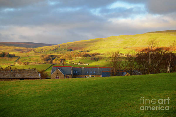 Wall Art - Photograph - Upper Wensleydale And Lovely Seat From Hawes In Yorkshire Dales by Louise Heusinkveld