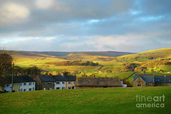 Wall Art - Photograph - Upper Wensleydale From Hawes In Yorkshire Dales National Park by Louise Heusinkveld