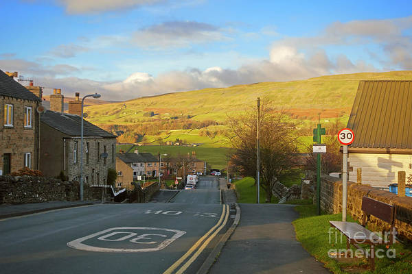 Wall Art - Photograph - Upper Wensleydale From Hawes Yorkshire Dales National Park by Louise Heusinkveld