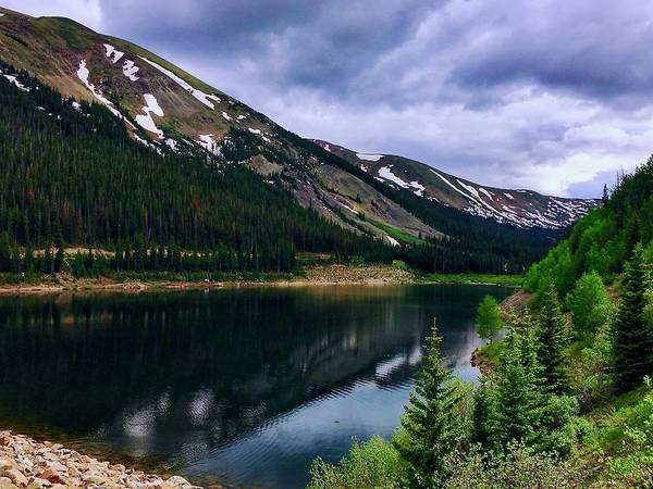 Photograph - Urad Lake by Dan Miller